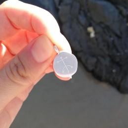 Pendentif personnalisé symbole viking à graver