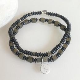 Bracelets homme pierres...