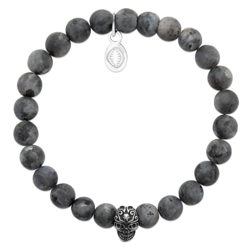 Bracelet homme pierre naturelle labradorite