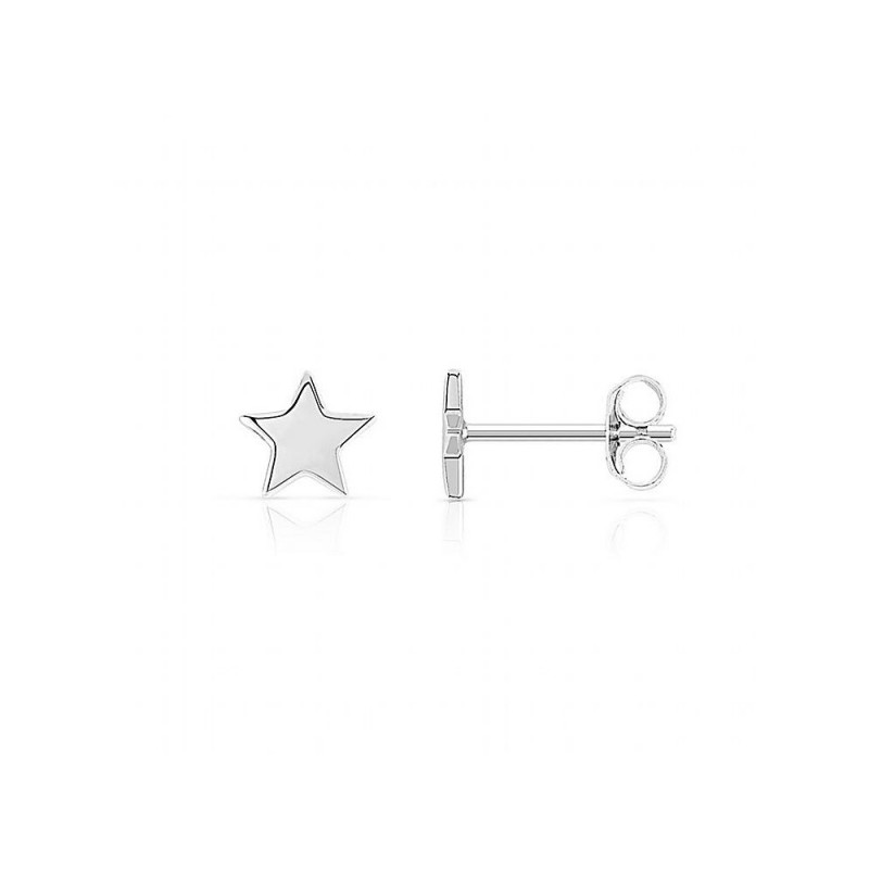 Boucles d'oreilles argent puces étoiles