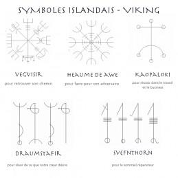 symboles viking, formules magiques islandais