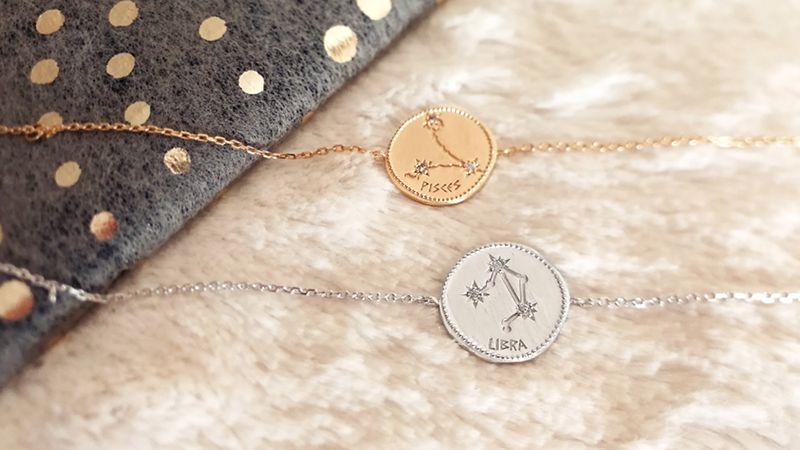 bracelet constellation du zodiaque